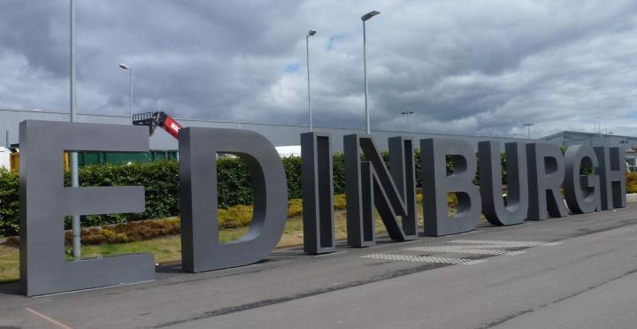 Arrivée en Écosse